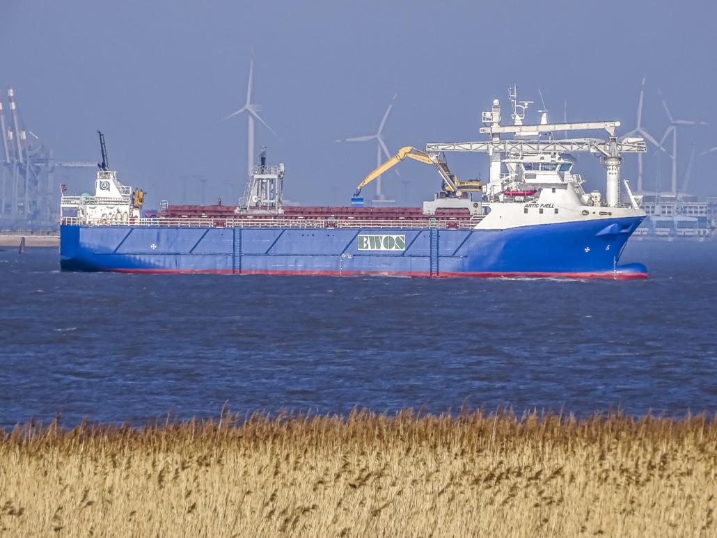 Kombibåt fiskefôr og råvarer